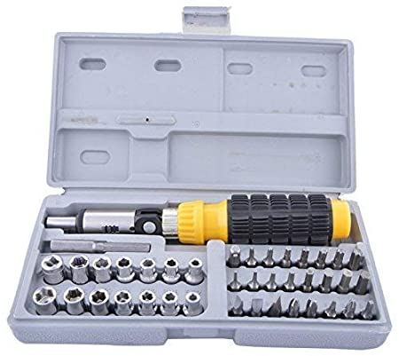 RAVI Screwdriver Set - 41 in 1 Pcs Tool Kit Screwdriver and Socket Set