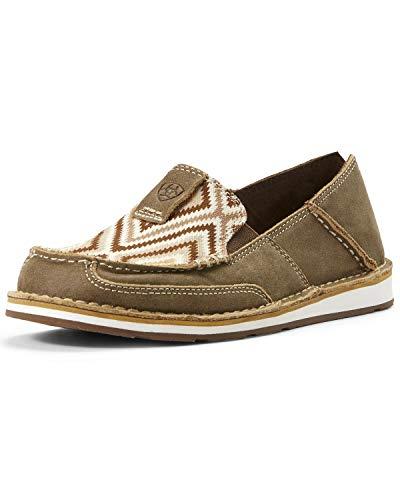 Ariat Women's Aztec Cruiser Shoes Moc Toe Brown 7.5 M