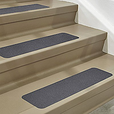 "Premium Quality 5 pieces 6"" x 24"" Commercial Grade Non-Slip High Traction Stair Safety No Slip Tape Grip Strong Adhesive"