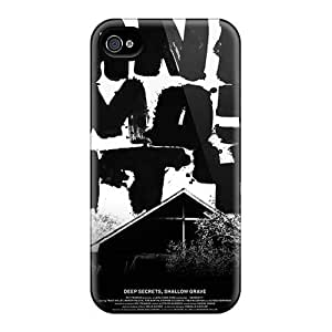 Iphonecase88 Apple Iphone 4/4s Best Hard Phone Case Allow Personal Design Realistic U2 Skin [aAm397xSFE]