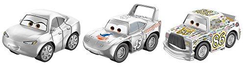 Exclusive Disney Pixar Cars - Disney Pixar Cars Mini Racers Vehicles, 3 Pack - Chickhick, Certain, King Exclusive