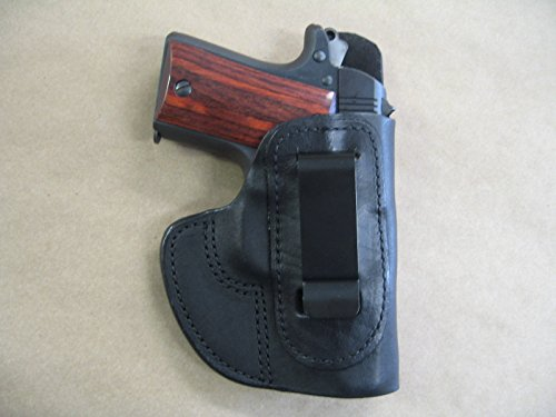 Azula IWB Molded Leather Concealed Carry Holster for Kimber Micro 9 9mm CCW Black RH (Best Small 9mm For Ccw)