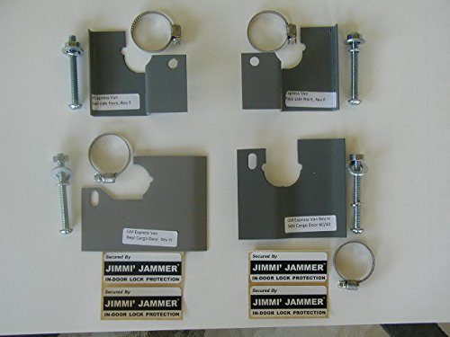 Jimmi Jammer In-door Lock Protection Chevy Express GMC Savana Van 96-09 with Swing Open Passenger Side Cargo Door