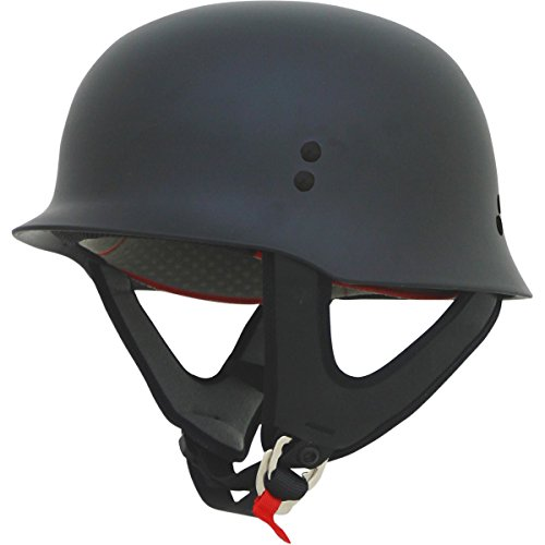 AFX FX-88 Solid Helmet , Distinct Name: Flat Black, Gender: Mens/Unisex, Helmet Category: Street, Helmet Type: Half Helmets, Primary Color: Black, Size: Lg 0103-1067 Afx Street Helmet