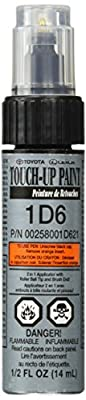 Genuine Toyota 00258-001D6-21 Silver Sky Metallic Touch-Up Paint Pen (0.5 fl oz, 14 ml)