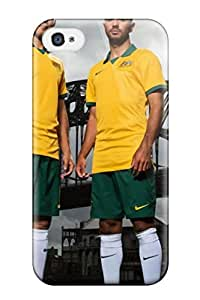 Cute High Quality Iphone 4/4s 2014 Fifa World Cup Australia Players Case
