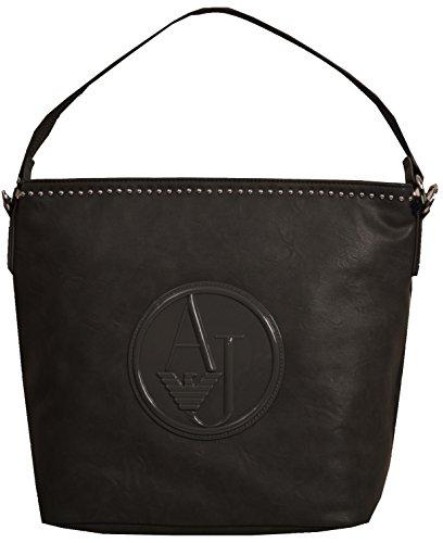 Armani , Damen Tote-Tasche Schwarz schwarz