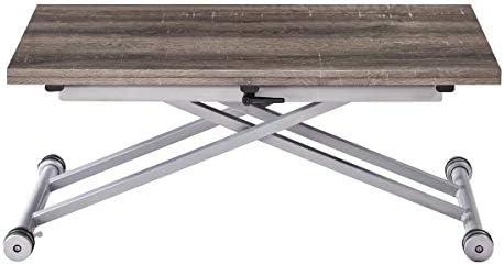 Moloo Design Domy - Mesa baja elevable extensible, papel ...