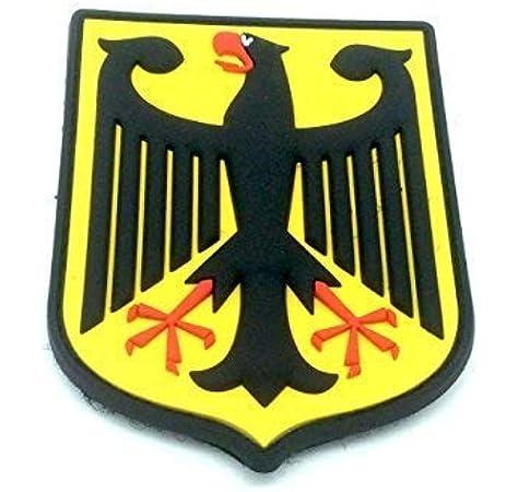 Escudo de Armas Alemán águila Imperial Alemana Bandera Airsoft PVC Parche Real: Amazon.es: Deportes y aire libre