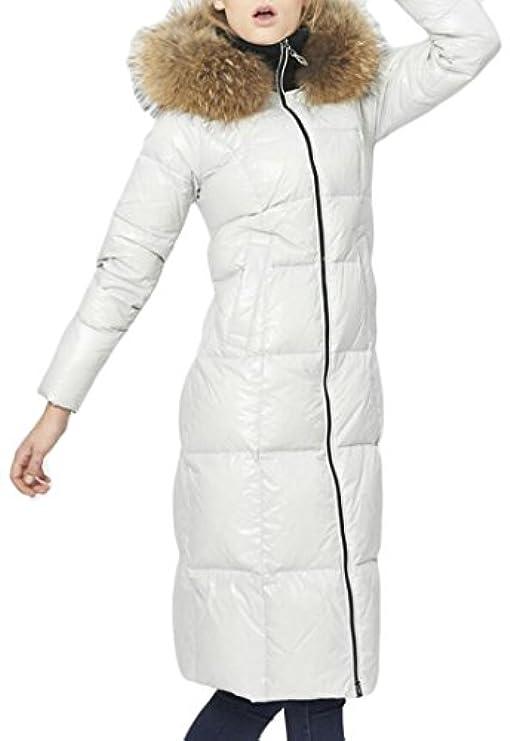 Pelliccia Con Tinta Winter Women Piumino Caldo Unita Ainr Addensile In Y08BR0wq