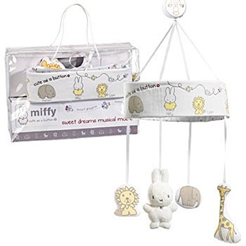 Miffy Sweet Dreams Musical Mobile by Rainbow Designs by Rainbow designs