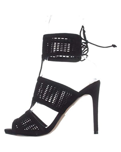 Call It Spring Womens Forcey Open Toe Special Occasion Ankle Strap Sandals Black