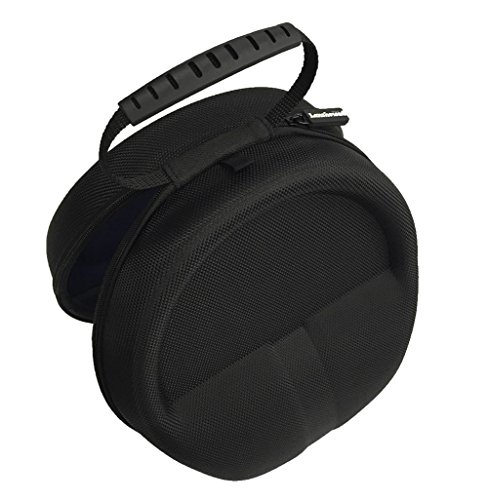 Full-Sized HardBody Headphone Carrying Case Pouch Storage Travel Bag for Audio Technica M50x Sennheiser Monster Beats Bose QuietComfort 35 25 Sony MDR7506 AKG Beyerdynamic + More Headphones - (Black)