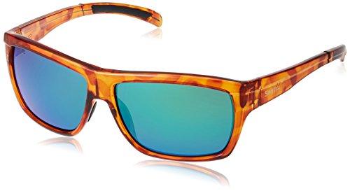 Smith Optics Mastermind Sunglass with Sol-X Carbonic TLT Lenses, Honey Tortoise/Polar - Sunglasses Mastermind