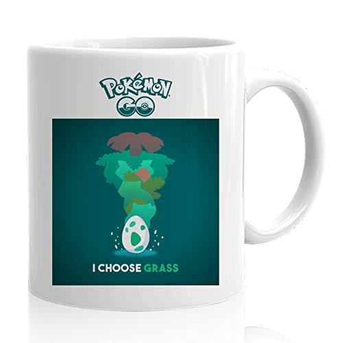 Coffee Mug - Game Mobile Console Joystick Gamer Monsters Pikachu Monster Evaluations Egg - Dad Husband Men Women Boyfriend Brother 15 Oz