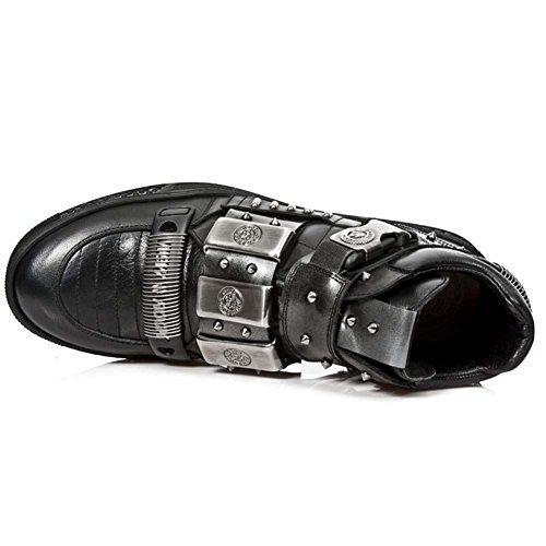 best for sale NEW ROCK M. PS027-S1 ITALI BLACK NOMADA BLACK PULIIK STEEL PISA BLACK Black discount for nice free shipping excellent best sale for sale sale 2015 q4vvzAl