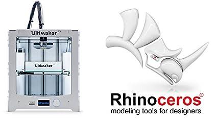 Impresora 3D Ultimaker 2 + y Software Rhino 5 for Mac: Amazon.es ...
