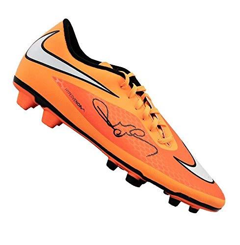d216102a69f Paul Scholes Signed Football Boot - Nike Hypervenom Orange Autograph Cleat  - Autographed Soccer Cleats