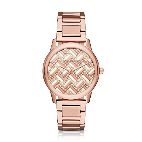 Michael Kors Women's Hartman Rose Gold-Tone Watch MK3592