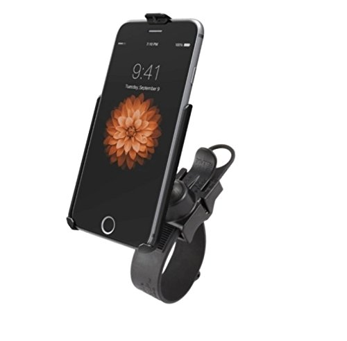 Strong Tube Rail Bike Bicycle Ez-Strap Mount Holder Kit for Apple iPhone 6 ()