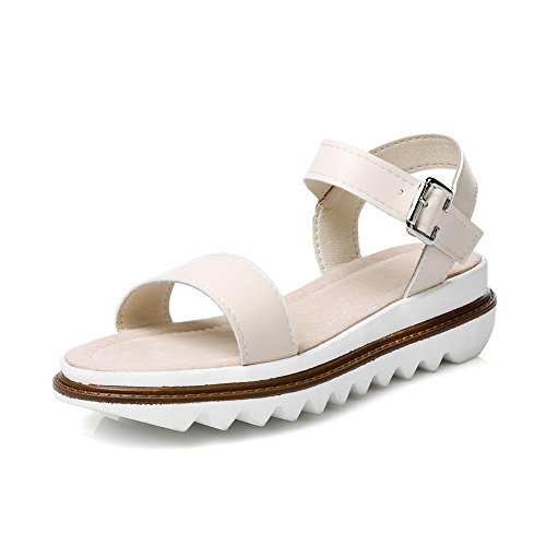 MJS02507 Color Beige Platforms Urethane Sandals 1TO9 Platforms Womens Assorted Sandals Zp8Tq