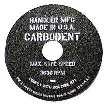 #31A-C HANDLER - Carbo-dent Wheel -10in - Coarse