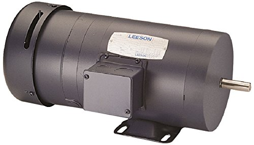 Leeson 114146.00 TEFC Rigid Base Brakemotor, 3 Phase, 56 Frame, Rigid Mounting, 1HP, 1800 RPM, 208-230/460V Voltage, 60Hz Fequency
