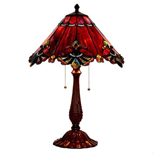 lámparas de escritorio - estilo de Tiffany 17 pulgadas retro ...