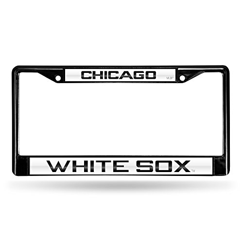 Chicago White Sox License Plate Frame - Chicago White Sox Laser