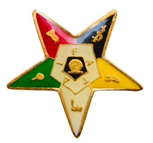 Masonic Order of the Eastern Star OES hat or lapel pin D42