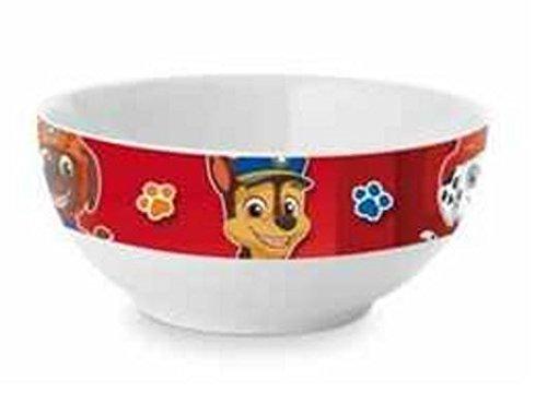 Paw Patrol Childrens Ceramic Breakfast Bowl Red ()