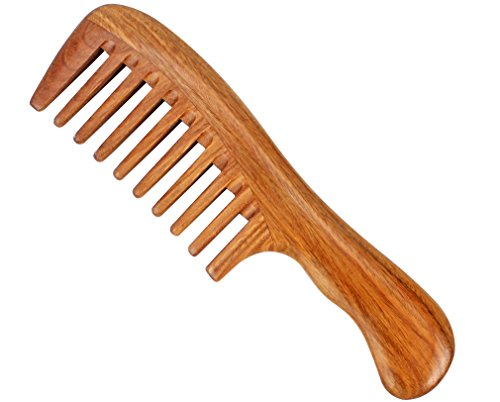 Natural Wooden Comb - 8