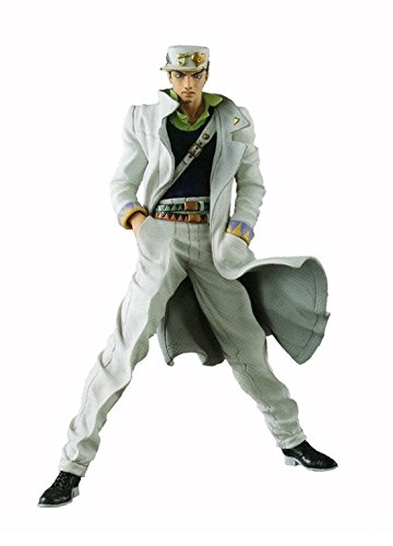 Banpresto Jojo's Bizarre Adventure Diamond is Unbreakable Jojo's Figure Gallery 7 x Diamond Records Jotaro Kujo Action Figure