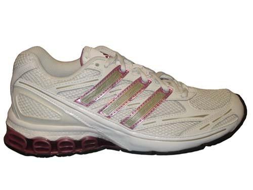 Harmony Cherry - adidas Women's HARMONY W Running Shoe,White/Cherry/Radian,8.5 M