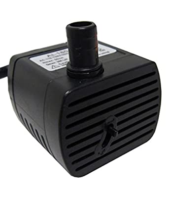 Fully Submersible Fountain Water Pump 52gph