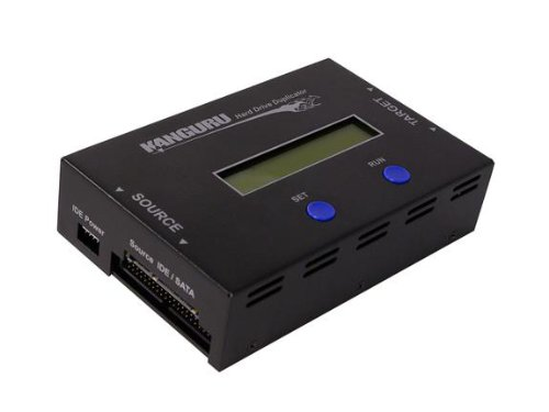 1 Target Hard Drive Duplicator by Kanguru Solutions