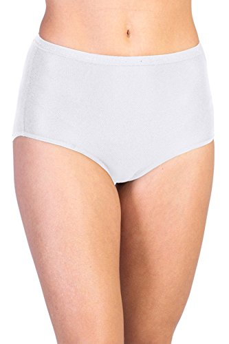 ExOfficio Women's Give-N-Go Full Cut Brief, White, XXX-Large