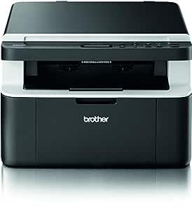 Brother DCP-1512 multifuncional - Impresora multifunción (Laser, Mono, Mono, 21 ppm, 2400 x 600 DPI, 21 cpm) (importado)