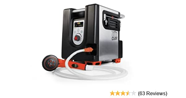 Amazon.com : Basecamp by Mr. Heater Aquacube Digital Shower (Blk/Silver) : Camping Equipments : Sports & Outdoors