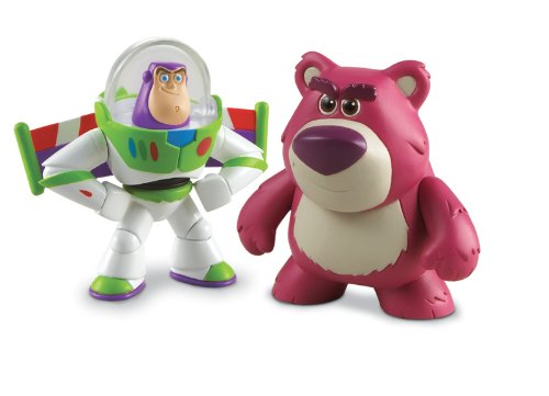 Disney / Pixar Toy Story 3 Action Links Mini Figure Buddy 2Pack Hero Buzz Lightyear Lotso by Mattel