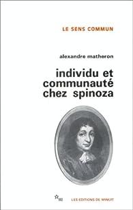 Individu et communauté chez Spinoza par Alexandre Matheron