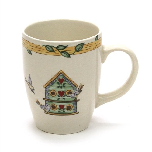 - Birdhouse by Thomson, Pottery Mug