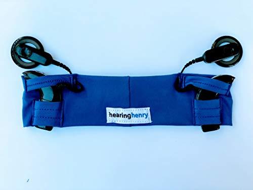 hearinghenry Sports Cochlear Implant Headband (Age 3yrs-10yrs) (Royal Blue)
