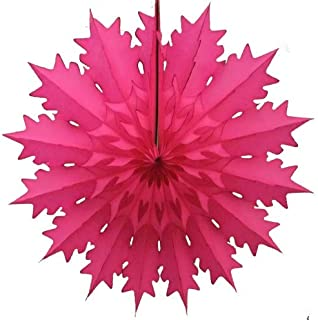 product image for Devra Party 3-Pack 19 Inch Tissue Paper Snowflake (Cerise)