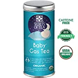 Baby Gas Herbal Tea - USDA Organic- Helps Relieve Bloating, Indigestion, Gas, and Promotes Better Sleep - 20 Tea Bags