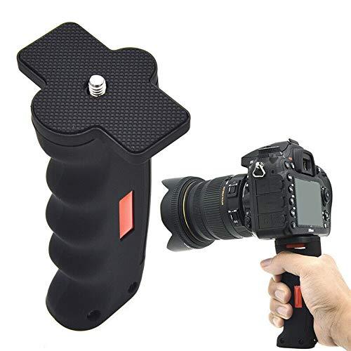 FENGYI KEJI Handle Grip Stabilizer 1//4Inch Screw Anti-Shock Handheld Grip Pography Accessory for SLR DSLR Camera