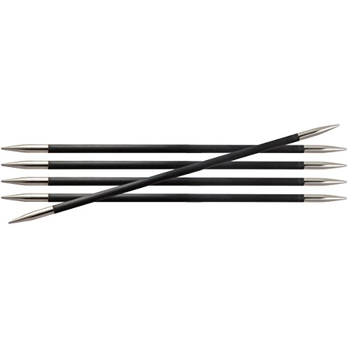 Knitter's Pride KP110127 2/2.75mm Karbonz Double Pointed Needles, 8'' by Knitter's Pride
