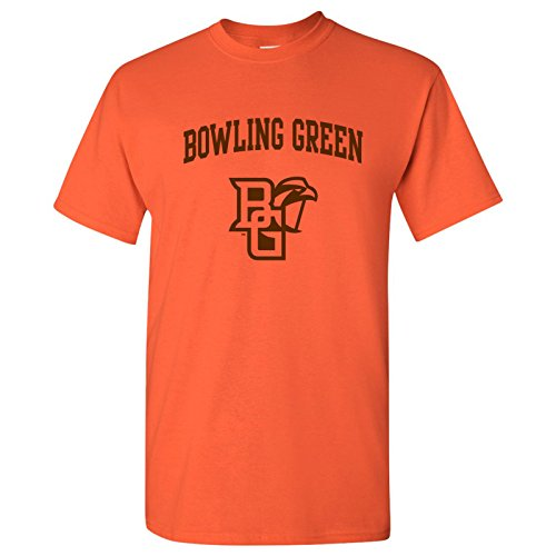AS03 - Bowling Green Falcons Arch Logo T-Shirt - 2X-Large - -