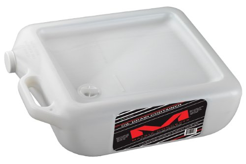 Matrix Concepts M28 Oil Drain Container, Clear Matrix Racing