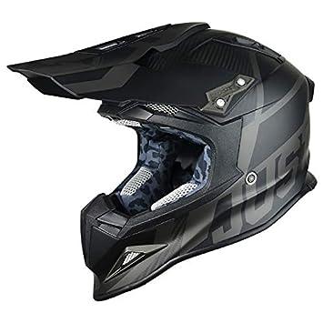 JUST1 casco J12 unidad 56-S, Negro, tamaño S